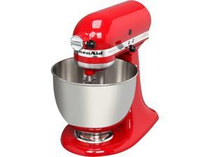 KitchenAid KSM150PSER Artisan Stand Mixer with Pouring Shield, 5 Quarts, Empire Red
