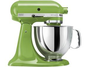 KitchenAid KSM150PSGA  Artisan Stand Mixer with Pouring Shield, 5 Quarts, Green Apple