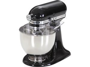 KitchenAid KSM150PSOB Artisan 325-Watt 5-Quart Stand Mixer (Onyx Black)