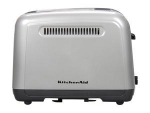 KitchenAid KMT211CU Contour Silver Manual High-Lift Lever Toaster
