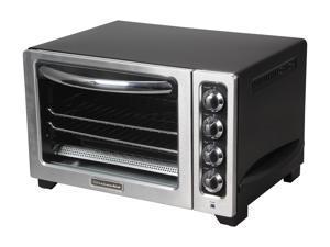 "KitchenAid KCO222OB Onyx Black 12"" Counter Top Oven"
