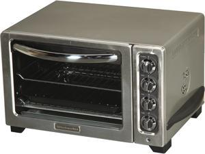 KitchenAid KCO223CU Contour Silver 12-inch Convection Bake Countertop Oven