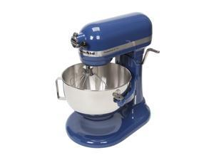KitchenAid KV25G0XQBW Professional 5 Plus Series Bowl-Lift Stand Mixer Blue Willow