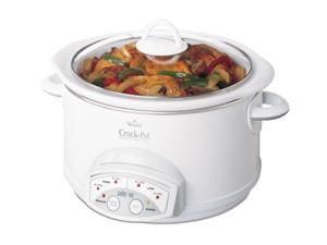 CROCK-POT 38501-W White Smart-Pot Slow Cooker