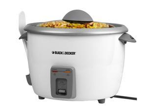 Black & Decker RC5428 White 28-Cup Rice Cooker
