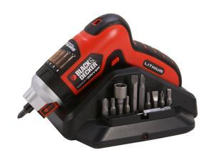 Black & Decker 4V MAX Lithium Rechargeable Screwdriver