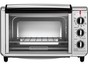 Black & Decker TO3230SBD Black 6-Slice Convection Toaster Oven