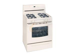 Neweggbusiness frigidaire gas range w self clean oven glgf376dq bisque - Clean gas range keep looking new ...