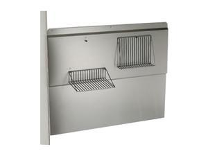 "BROAN 30"" RANGEMASTER Backsplash RMP3004 Stainless Steel"