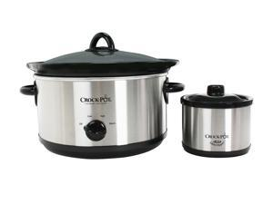 CROCK-POT SCR503-UM Stainless Steel Slow Cooker