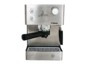 saeco ri9376 04 aroma manual espresso machine stainless steel. Black Bedroom Furniture Sets. Home Design Ideas