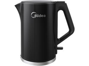 Midea MEK17DW-B Black Kettle COOLTOUCH Series Electric Kettle