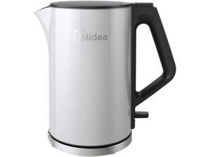Midea MEK17DW-W White Cool Touch Series Electric Kettle