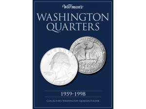 Warman's Washington Quarters 1959-1998 Collector's Folder