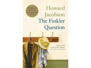 The Finkler Question Man Booker Prize Jacobson, Howard