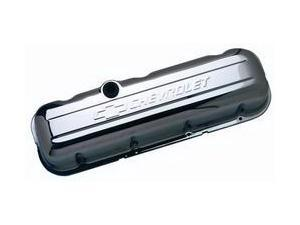 Proform 141-115 Stamped Valve Cover Chevrolet And Bow Tie Emblem