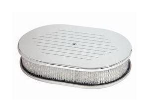 Mr. Gasket Chrome Aluminum Air Cleaner