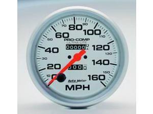 Auto Meter 4495 Ultra-Lite In-Dash Mechanical Speedometer