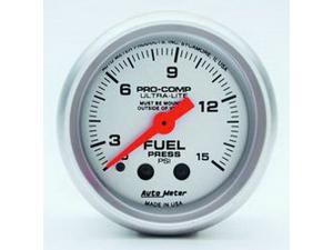 Auto Meter 4313 Ultra-Lite Mechanical Fuel Pressure Gauge