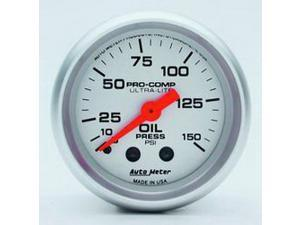 Auto Meter 4323 Ultra-Lite Mechanical Oil Pressure Gauge