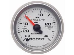 Auto Meter Ultra-Lite II Electric Boost/Vacuum Gauge
