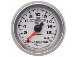 Auto Meter Ultra-Lite II Electric Pyrometer Gauge Kit