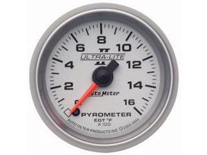 Auto Meter 4944 Ultra-Lite II Electric Pyrometer Gauge Kit