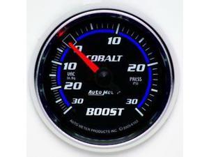 Auto Meter 6103 Cobalt Mechanical Boost/Vacuum Gauge
