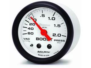 Auto Meter Phantom Mechanical Boost/Vacuum Gauge