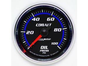 Auto Meter 6121 Cobalt Mechanical Oil Pressure Gauge