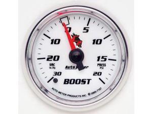 Auto Meter 7107 C2 Mechanical Boost/Vacuum Gauge