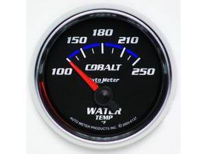 Auto Meter 6137 Cobalt Electric Water Temperature Gauge