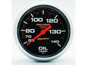 Auto Meter 5441 Pro-Comp Liquid-Filled Mechanical Oil Temperature Gauge