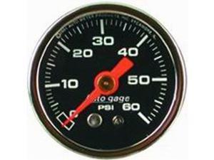 Auto Meter Autogage Fuel Pressure Gauge