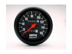 Auto Meter Z-Series In-Dash Mechanical Speedometer