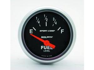 Auto Meter 3316 Sport-Comp Electric Fuel Level Gauge