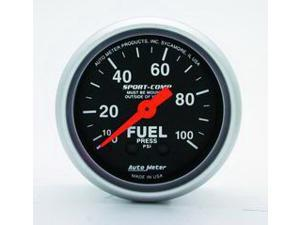 Auto Meter Sport-Comp Mechanical Fuel Pressure Gauge