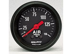 Auto Meter 2620 Z-Series Mechanical Air Pressure Gauge