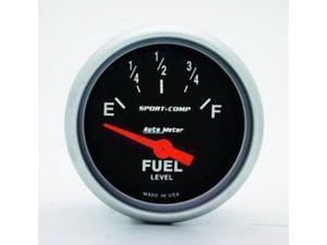 Auto Meter Sport-Comp Electric Fuel Level Gauge