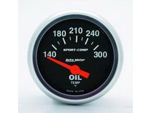 Auto Meter 3348 Sport-Comp Electric Oil Temperature Gauge