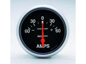 Auto Meter Sport-Comp Electric Ampmeter Gauge