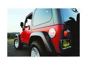 All Sales 6092P Billet Fuel Door