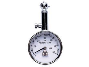 Professional Products 11101 Tire Gauge 0-60 Tire Gauge w/45 Deg. End