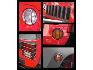 Rugged Ridge 12496.06 Euro Guard Kit Head/Side/Tail Light Guard