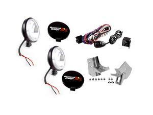Rugged Ridge 12495.07 Windshield Light Mount Kit