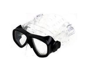 Pro ear 2000 scuba diving divers mask - black (RX available)