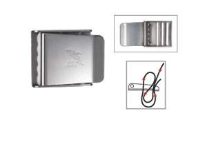 Cam belt Stainless steel buckle 3-slot design