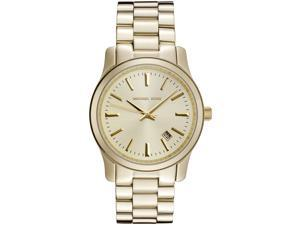 Michael Kors Women's Jet Set Gold Color Dial Gold Tone Stainless Steel