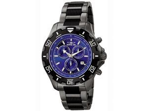 Men's Invicta II Chronograph Gunmetal Stainless Steel
