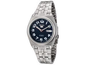 Men's Seiko 5 Automatic Dark Blue Dial Stainless Steel
